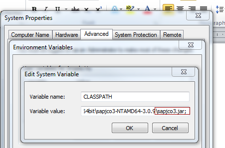 how to get system component information in sap